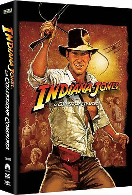 Indiana Jones - La Collezione Completa (5 DVD) - ITALIANO ORIGINALE SIGILLATO -