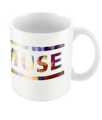 Official Muse Logo Mug New Rock Metal Band Merch Coffee Boxed 2nd Law Packshot