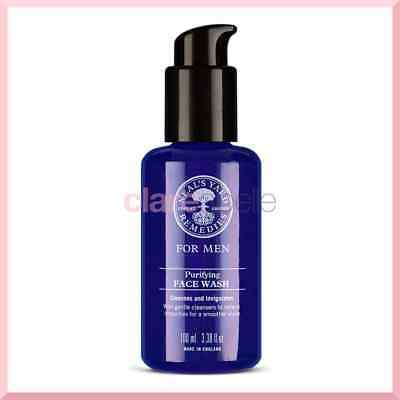 Neal's Yard NYR Men Purifying Face Wash 100ml - RRP £17.00 - FREE Postage