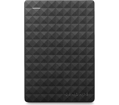 Seagate Expansion Portable Hard Drive 500GB Compact & lightweight USB 3.0 Black