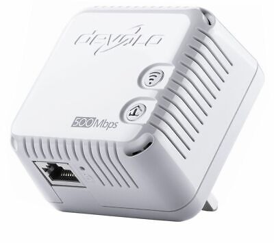 DEVOLO dLAN 500 Mbps Home Network Encrypted Wireless Powerline Adapter White