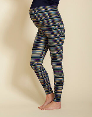 Stripe Maternity leggings - stripe maternity leggings - XS / L / XL