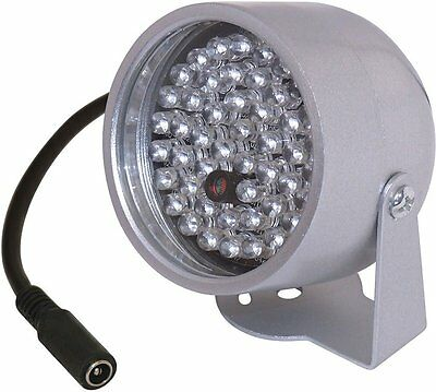 Projecteur Spot Infrarouge 20M Etanche Exterieur 48 Led Ir Camera Surveillance