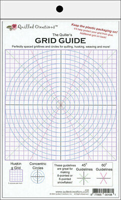 Quilled Creations - The Quiller's Grid Guide