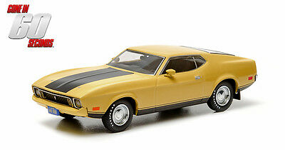 GREENLIGHT 1:43 Hollywood - ELEANOR - Gone in 60 Seconds 1973 Custom Mustang