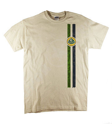 Lotus Esprit Elan Europa Elise Team Lotus Classic Car Retro Natural T-Shirt