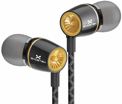 Ghostek TURBINE Wired Headphones | 3.5MM Earbuds Earphones In-Ear Stereo Headset