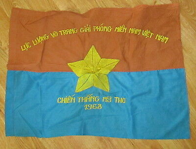Viet Cong Tet 1968 My Tho Chien Thang-Means Victory/liberate Flag