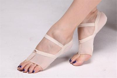 Contemporary Lyrical Full Length Dance Shoe Dance Paw Foot Thongs Toe Undies S-L