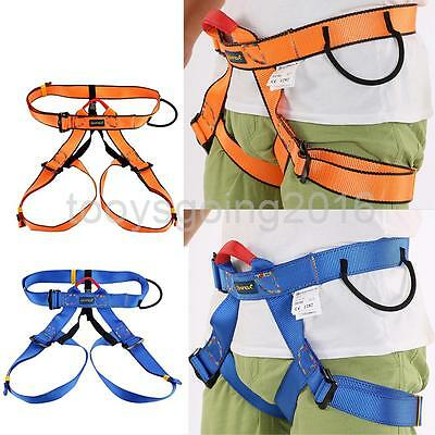 Safety Rock Climbing Tree Rappelling Harness Seat Sitting Bust Belt Equip Gear