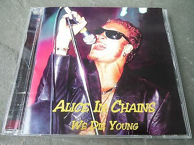 """Alice In Chains """"we Die Young """" Pro Sourced- Silver Disc-Never Used-Primadonna"""