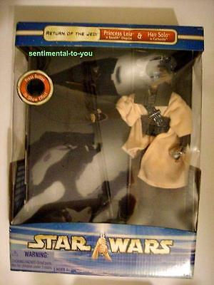 """Star Wars SW 12"""" Princess LEIA Boushh Doll Figure w/ Carbonite Carrie Fisher RIP"""