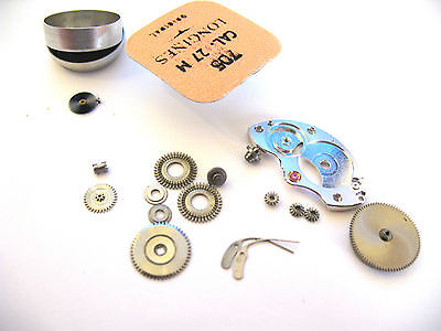 Longines 27M,27Ms Assorted Spare Parts, 180,705,106,734,420,407,410,195,415,260