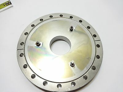 """MDC Vacuum Stainless UHV Reducer Flange 8"""" to 3.5"""" Fitting"""