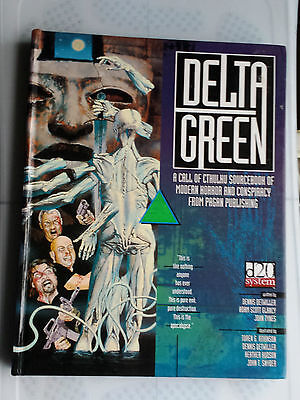 core rules delta green pagan publish Call of cthulhu CoC horror RPG hardcover