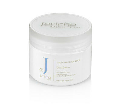 Jericho Dead Sea Smoothing Body Scrub Normal to Dry Skin 500g 18oz