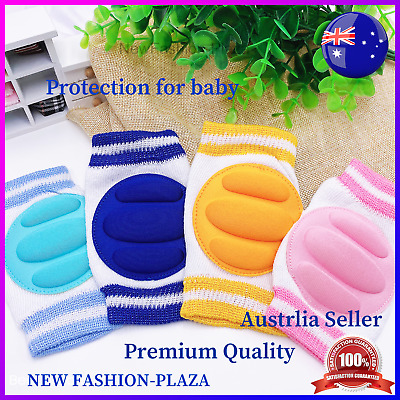 Baby Infant Toddler Safety Knee Pads Crawling Walking with Multi-Colour