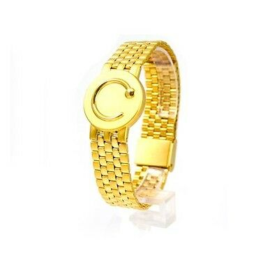 Bioflow Elite Magnetic Bracelet Gold Unisex Ladies Men Therapy Arthritis Caravan
