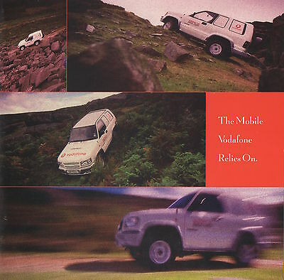 Isuzu Trooper 4x4 Commercial Brochure - Vodafone Livery