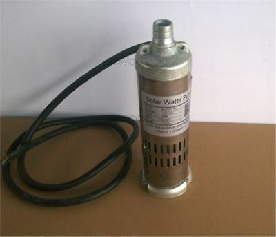 New 12V Dc 264W Solar Submersible Water Well Pump 3M³/Hour M123t-20 20M Head V