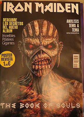 Iron Maiden:the Book Of Souls (Spanish Magazine + 2 Posters Gigantes)!!!