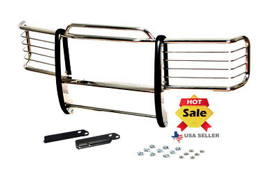 1988-98 Chevy Chevrolet Silverado chrome brush Grill Guard in Stainless Steel