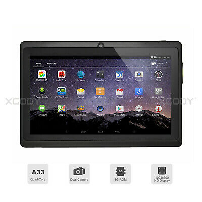 XGODY 7'' ZOLL Android 8.1 Oreo Quad Core Dual Camera Tablet PC 1GB+8GB IPS WLAN