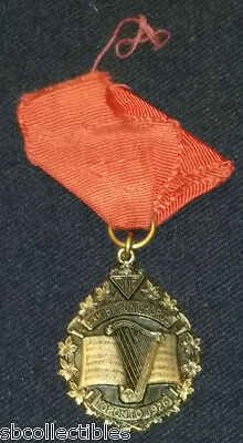 1926 - Canadian National Exhibition - Cne - Chorus - Toronto - Medal With Ribbon
