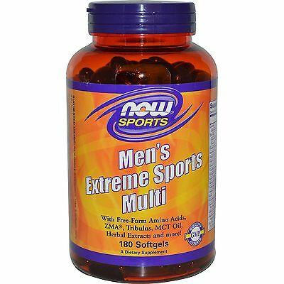 Now Foods Men's Extreme Sports Multivitamins - 180 Softgels