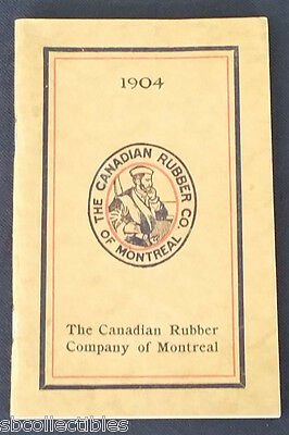 1904 - The Canadian Rubber Co Of Montreal - Catalog