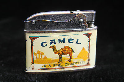 Vintage Lighter - Crown Camel Cigarette Lighter - Have a Real Cigarette!