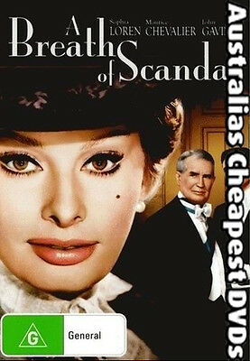 A Breath Of Scandal DVD NEW, FREE POSTAGE WITHIN AUSTRALIA REGION 4