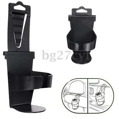 Leather Vehicle Car Air Vent Auto Bottle Beverage Drink Cup Holder Stand Mount