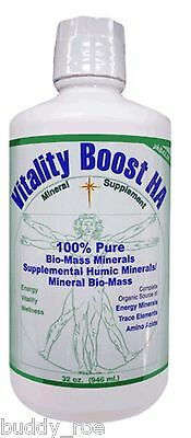 Morningstar Minerals Vitality Boost HA  Humic Acid Supplement 100% Pure 1 Quart