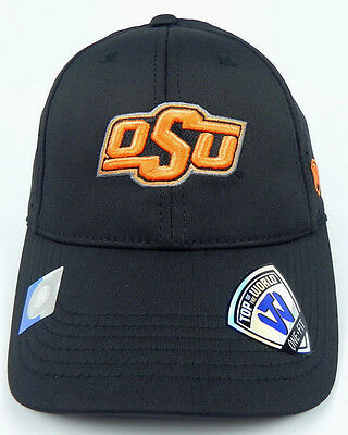 outlet store 136e3 d66ed Oklahoma State St. Cowboys Ncaa Black Stretch Flex Fit 1-Fit Tow Cap Hat
