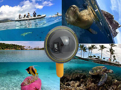 Diving Underwater Camera 6 Inch Dome Port Cover Floating For GoPro Hero 3/3+/4