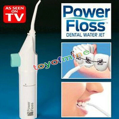 Power Floss Dental Water Jet As Seen on TV Cords Tooth Pick Braces No Batteries