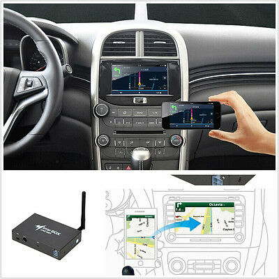 WIFI Car Mirror Box for Android iOS Phone Navigation Audio Miracast DLNA Airplay