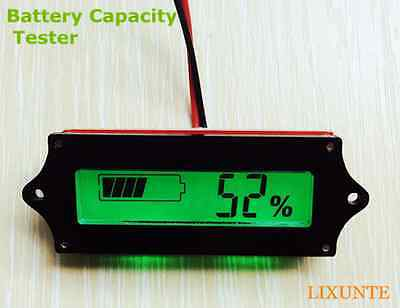 Hot 12V Indicator Lead-acid LiPo Battery Capacity Power Tester/Monitor/Checker T