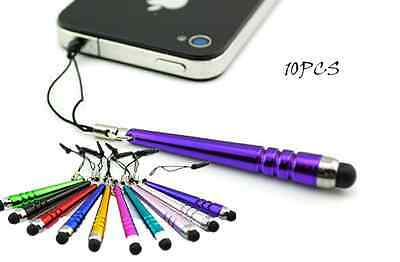 10Pc Hot Mini Metal Stylus Screen Touch Pen For iPhone IPad Tablet PC Samsung XT