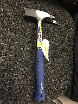 Estwing E3-239MS Roofers Pick Hammer - Blue NVG Grip -Smooth Face -FREE DELIVERY
