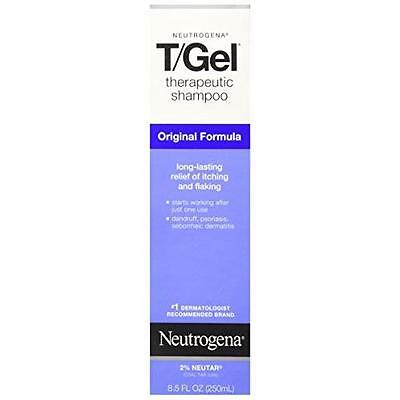 Neutrogena T/Gel Therapeutic Shampoo Original Formula 8.50oz Each