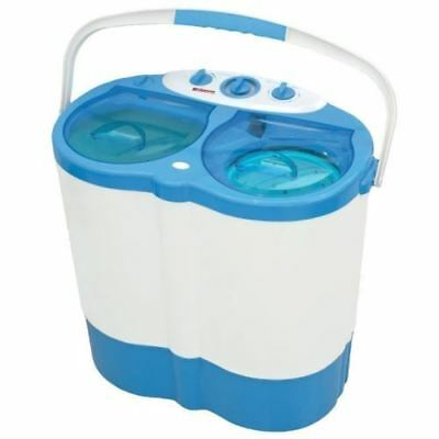 Portable Twin Tub Caravan Student Washing Machine & Spin Dryer Load 230W