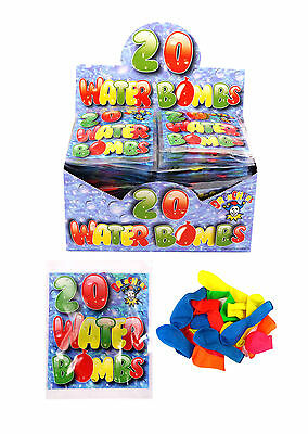 Water Ballons Neon Colour Water Bombs Outdoor Games Summer Party Fun Toys Kids