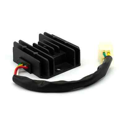Universal 4 Wire Full Wave Black Motorcycle Regulator Rectifier 12V DC Bike Quad