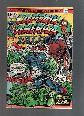Captain America and Falcon lot of 7 books #185 #187 #188 #189 #190 #191 and #192