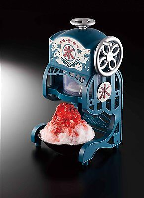 NEW DOSHISHA Electric Fluffy Shaved Ice Maker Blue DCSP-1651 AC100V