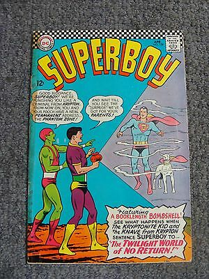 "Superboy #128 (1966) ""The Twilight World of No Return!"" * DC Comics *"