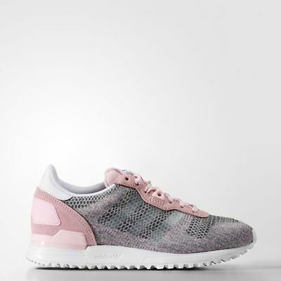 Adidas ORIGINALS  ZX 700  Pink Grey White Women's Shoes  S75256