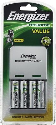 NEW Energizer Battery Charger CHVCM